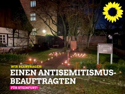 """Grüne beantragen Einrichtung eines """"Antisemitismus-Beauftragten"""""""