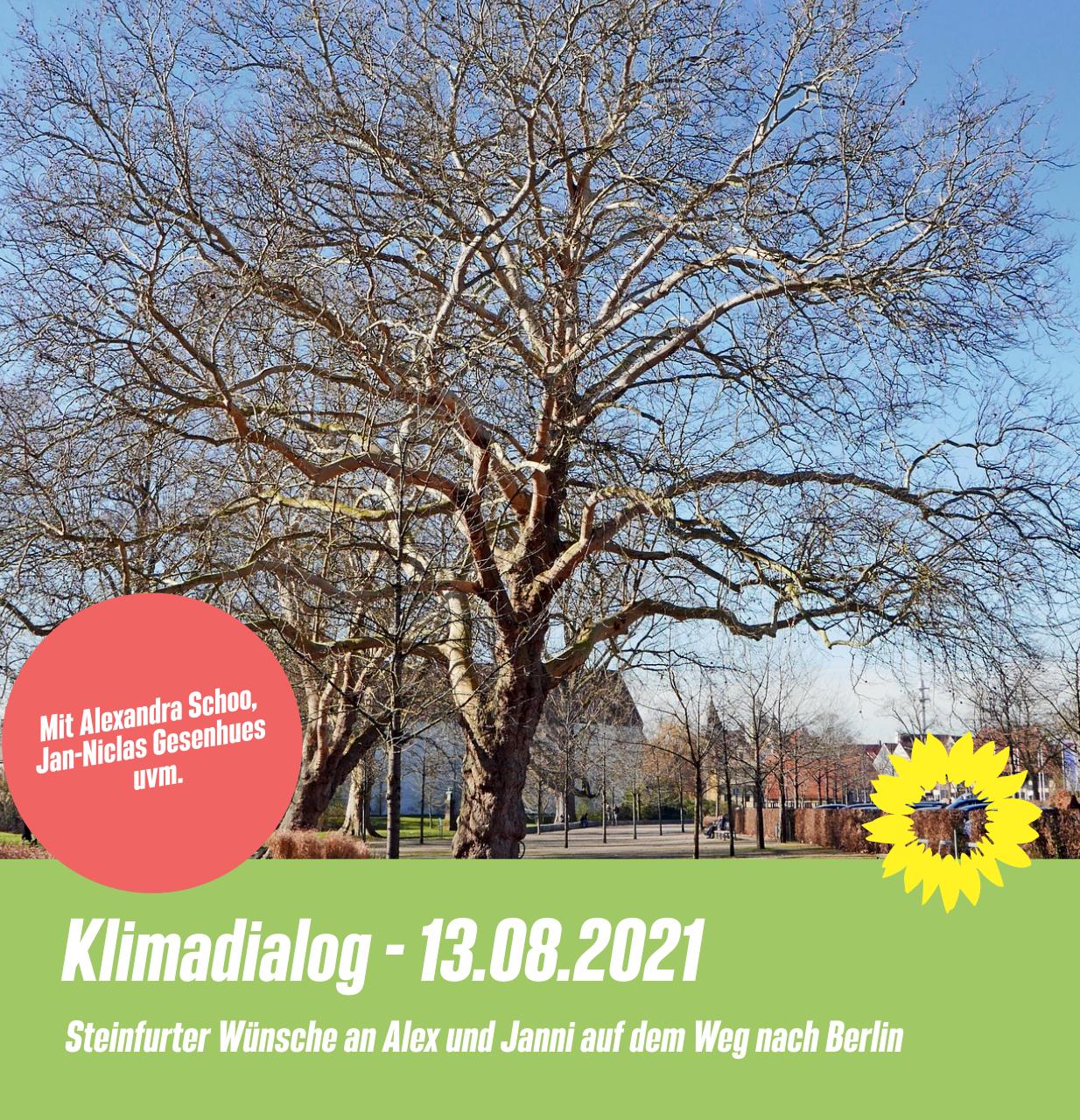 Steinfurter Klimadialog – Save the date 13.08.2021