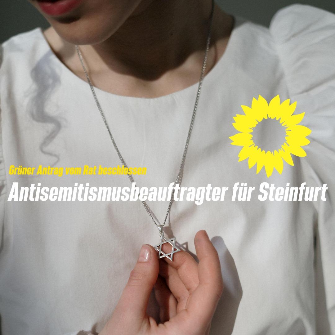 Steinfurt bekommt einen Antisemitismus-Beauftragten!